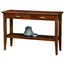 leick home 2 drawer sofa table walmart com