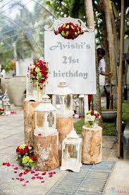 Entrance Sign From A Rustic Vintage 21st Birthday Party On Karas Ideas