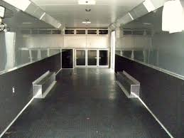 Checkerboard Vinyl Flooring For Trailers by Rubber Coin Flooring Trailer Flooring Designs