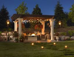 Outdoor Covered Patio Lighting Ideas | Sacharoff Decoration Pergola Design Magnificent Garden Patio Lighting Ideas White Outdoor Deck Lovely Extraordinary Bathroom Lights For Make String Also Images 3 Easy Huffpost Home Landscapings Backyard Part With Landscape And Pictures House Design And Craluxlightingcom Best 25 Patio Lighting Ideas On Pinterest