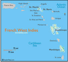 Map Of The French Indies And West Information Page