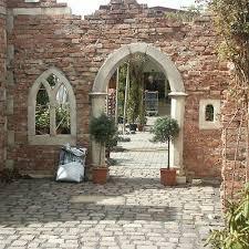 226 ziegelsteine backsteine natursteinmauer hochbeet outdoor