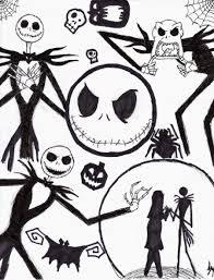 Nightmare Before Christmas Zero Halloween Decorations by Nightmare Before Christmas Coloring Pages Halloween Decor And