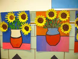 Coloriage Tournesols Vincent Van Gogh