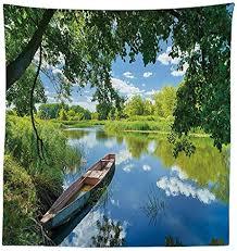 vipsung lakehouse decor tischdecke sommer landschaft der