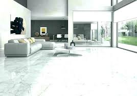 Tile In Kitchen And Living Room Marble Floor Tiles White With Black