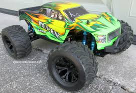 100 Brushless Rc Truck Wolverine Pro RC Electric 110 4WD LIPO 24G 70193
