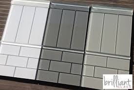 brilliant glass tiles subway tiles square and squares