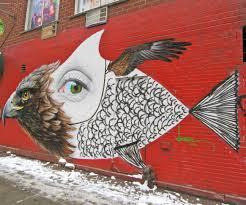 Joe Strummer Mural Nyc Address by Eagle Eye Fish Mural On East 2nd Street The Worley Gig