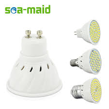 led ac 220v smd 2835 led spotlight bulbs e27 e14 mr16 gu10 for
