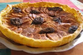 dessert aux pruneaux facile recette de tarte pommes pruneaux la recette facile