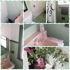 recreating a 1950s mint green black and pink bathroom 5 design