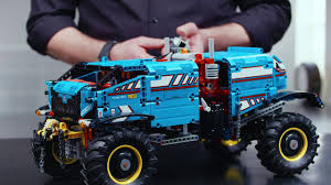 100 Truck Designer LEGO Technic 42070 6x6 All Terrain Tow Video YouTube