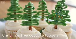 Cute Christmas Tree Cupcake Toppers Recipes