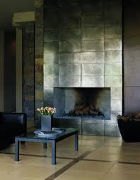 modern metallic infused porcelain tile