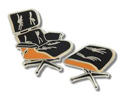 Amazon.com: Acme Studio Eames Lounge Chair Pin By Charles ... Filengv Design Charles Eames And Herman Miller Lounge Eames Lounge Chair Ottoman Camel Collector Replica How To Tell If Your Is Real Vs Fake My Parts 2 X Replacement Black Rubber Shock Mounts Chair Hijinks Goods Standard Size Identify An Original Revisiting The Classics Indesignlive Reproduction Mid Century Modern