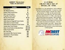 AMBEST TRAVELOGUE - Driving The Adventure Truck Stop Guide Added Protection Truck Stop Dallas Lunda Center Progress 12 8 15 Youtube Abbyland Trucking Curtiss Wi Petropass Directory Pages 151 200 Text Version Fliphtml5 Pilot Village Of Curtiss 152035 Comprehensive Plan