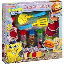 spongebob squarepants krusty krab bath set 12 pc walmart com