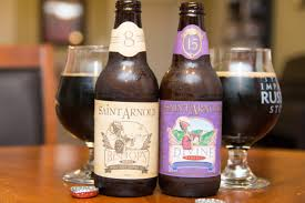 Saint Arnold Pumpkinator 2015 by Saint Arnold Divine Reserve 15 And Bishop U0027s Barrel 8 Beers And Ears