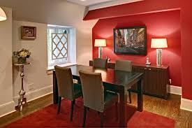 Dining Room Accent Walls Silver Red Home Decor Ideas Websites