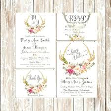 Beautiful Walmart Wedding Invitations Kit For Printable Rustic Invitation Kits With Image High Definition