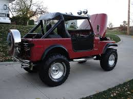 79 Jeep CJ 7 AMC 258 QuadraTrac Turbo 400