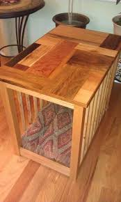 dog crate end table by cplant lumberjocks com woodworking