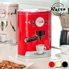 Vintage Coffee Machine Metal Box