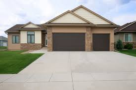 100 Summer Hill Garage Traditional Ranch Style Exterior Elevation Includes