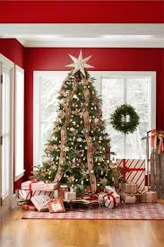 Ge Artificial Christmas Trees by Interior Red Artificial Christmas Tree Folding Christmas Tree 11