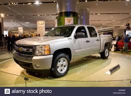 100 Car Truck Hybrid 2009 Chevrolet Silverado Pickup Truck At The 2008 North Stock
