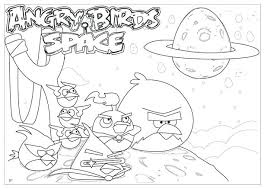 Angry Birds Star Wars Coloring Pages Online Space To Print Pdf
