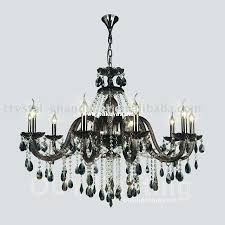 wood beaded chandelier antique hanging electrified