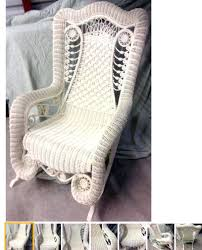 Bedroom Chairs Walmart by White Wicker Rocking Chair Outdoor Antique Wicker Rocking Chair