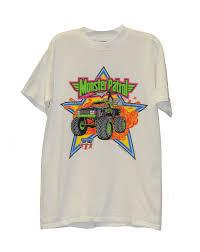 100 Monster Truck Shirts Vintage Patrol USHRA White TShirt Brand New