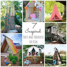 7 INSPIRED FORT AND TREEHOUSE DESIGNS FOR KIDS! - The Inspired ... Real Family Time Cool Fort Building A Hideout Gets Kids Outdoors Backyards Awesome Backyard Forts For Kids Fniture Cubby Houses Play Equipment Pallet Easy Wooden Swing Set Plans How To Build For The Yard Terrific 25 Best Ideas About Fort On Kid We Upcycled My Old Bunk Beds Into Cool Thanks Childs Dream Homes Tykes Playhouses Children S And Small Spaces Outdoor Pinterest Ct Dr Nic Williams Flickr Childrens Leonard Buildings Truck