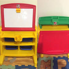 Step2 Art Easel Desk Toys by Showy Step 2 Desk Ideas Flip Doodle Easel Stool And Chair Uk