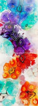 Decorative Paintings Abstract Flower Painting Manufacturers Watercolor Acrylic On Canvas Of Flowers In
