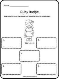 A 1st Grade Social Studies Unit All About Ruby Bridges Includes