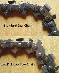 Tricks Of The Trade Understanding Low Kickback Saw Chain