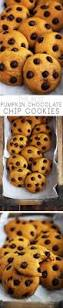 Libbys Great Pumpkin Cookies by Best 25 Pumpkin Chocolate Chip Cookies Ideas On Pinterest