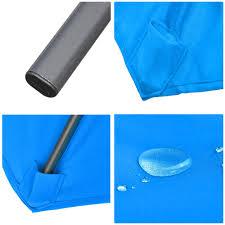 9 Ft Patio Umbrella With Crank by 8 U0027 Ft Patio Umbrella Aluminum Crank Tilt Deck Sunshade Cover