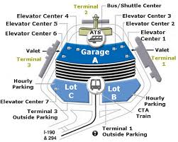 Airport Parking Maps For Oakland OHARE Oklahoma City tario