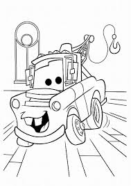 Printable Cars 2 Coloring Pages