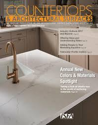 Superior Tile And Stone Anchorage by Isfa U0027s Countertops U0026 Architectural Surfaces Vol 10 Issue 1 Q1