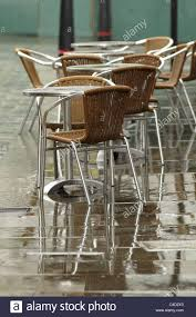 London Cafe Chairs And Tables On The Pavement In The Rain ... Restaurant Fniture In Alaide Tables And Chairs Cafe Fniture Projects Harrows Nz Stackable Caf Widest Range 2 Years Warranty Nextrend Western Fast Food Cafe Chairs Negoating Tables 35x Colourful Gecko Shell Ding Newtown Powys Stock Photo 24 Round Metal Inoutdoor Table Set With Due Bistro Chair Table Brunner Uk Pink Pool Design For Cafes Modern Background