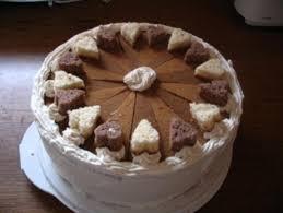 hier die fertige torte käse sahne torte rezept