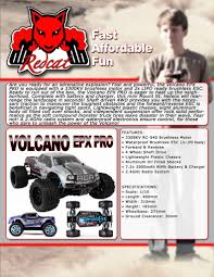 Volcano EPX PRO Truck 1/10 Scale Brushless Electric (Blue) | The RC Edge Redcat Racing Volcano Epx Volcanoep94111rb24 Rc Car Truck Pro 110 Scale Brushless Electric With 24ghz Portfolio Theory11 Rtr 4wd Monster Rd Truggy Big Size 112 Off Road Products Volcano Scale Electric Monster Truck Race Silver The Sealed Bearing Kit Redcat Lego City Explorers Exploration 60121 1500