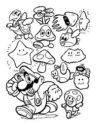 Jeux De Coloriage De Mario Jokaroonet
