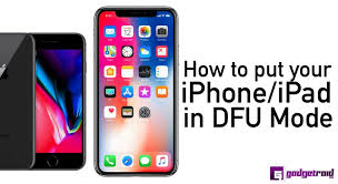 How to put your iPhone or iPad in DFU Mode [Step by step guide]